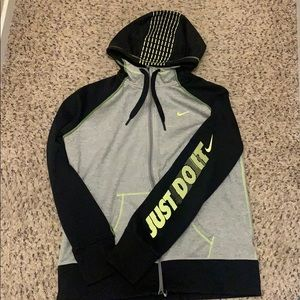 Women's Nike Zip Up Size XL